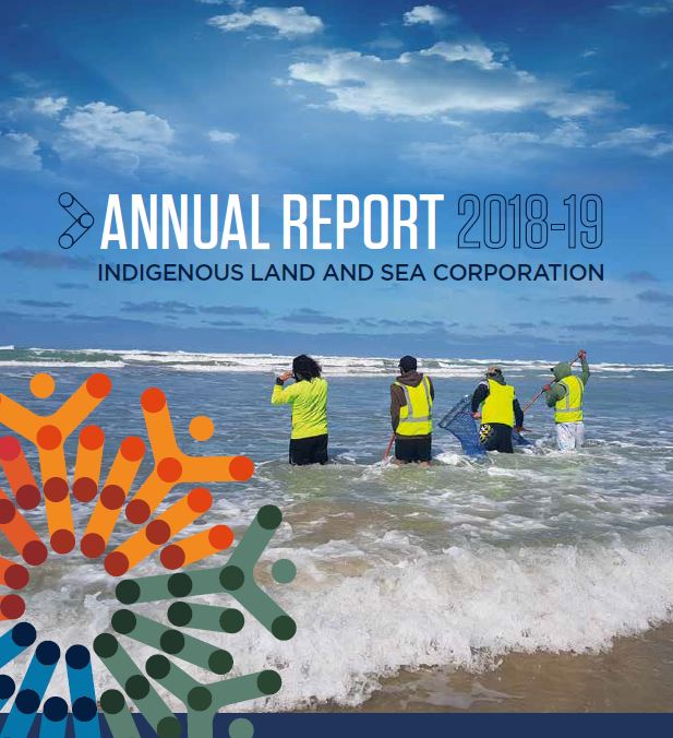 ILSC Annual Report 2018-19 cover