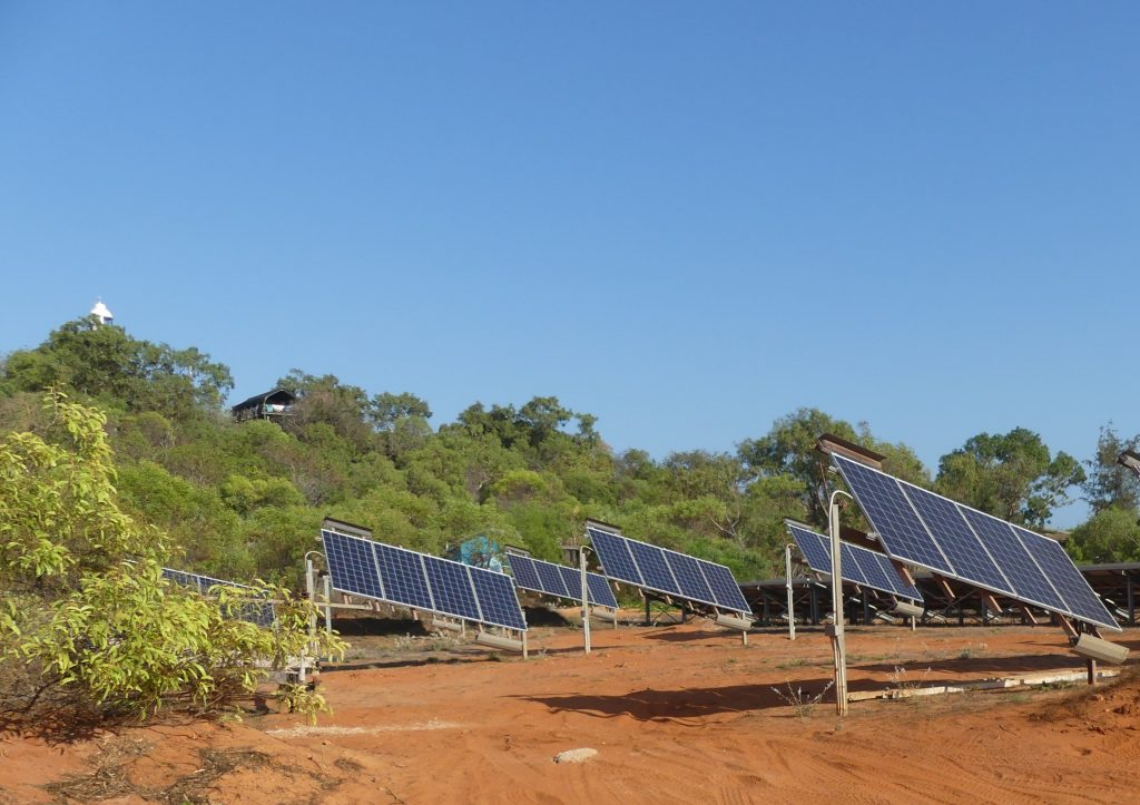 Kooljaman solar hybrid power system