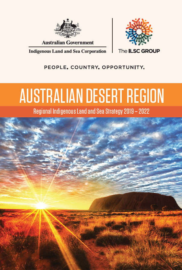 Cover Regional Indigenous Land and Sea Strategy - Desert