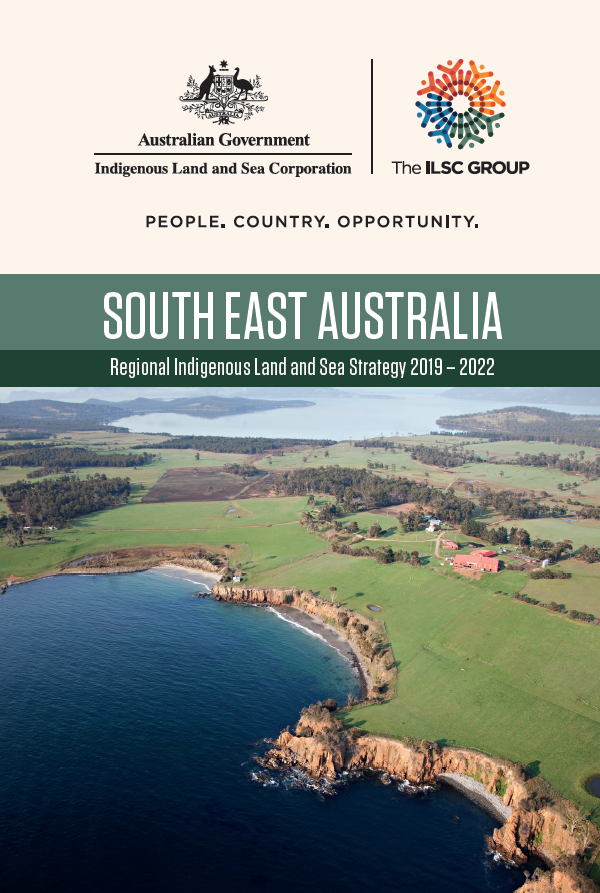 Cover Regional Indigenous Land and Sea Strategy - South East Australia