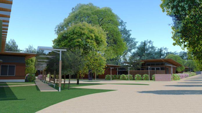 Image of concept design of Elder's Village
